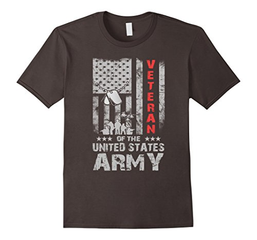 US American Flag T-shirt for U.S. Army Veterans Shirt