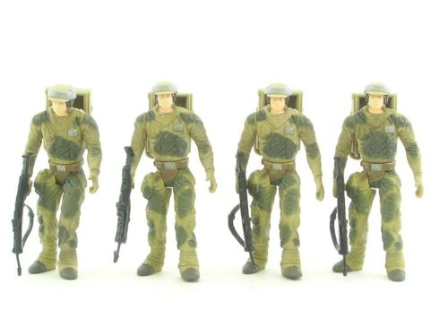 Star Wars Endor Soldier Troop Builder Toy Rocket 26761