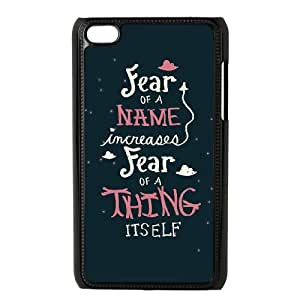 iPod Touch 4 Phone Case Black Harry Potter quotes AH1109285