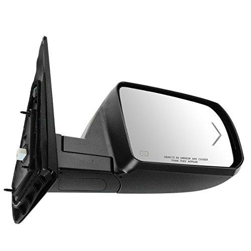 Mirror Power Folding Heated Turn Signal Chrome Passenger Side for Tundra ()
