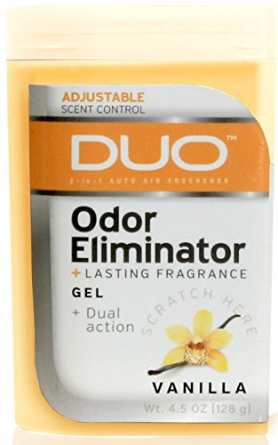 Gel 8300 (Duo 4.5 oz. Odor Eliminating Gel Air Freshener - 1/EA (Vanilla))