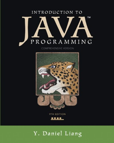 Introduction to Java Programming, Comprehensive Version (9th Edition) by Prentice Hall