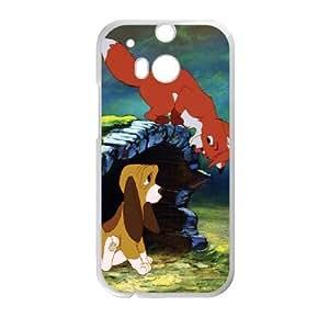 HTC One M8 Phone Case White Fox and the Hound UYUI6765734
