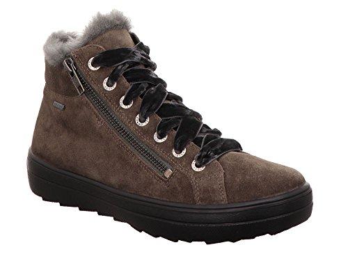 Alto Mira a Sneaker Donna Collo Legero Vigogna 27 Braun S7qCwBc