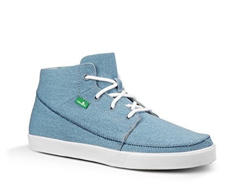 Sanuk Mens Highrise Sidewalk Surfers Footwear Blue discount low shipping with credit card cheap price cheap sale high quality IJSmq