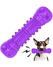 FRLEDM Dog Squeaky Toys- Toughest Natural Rubber