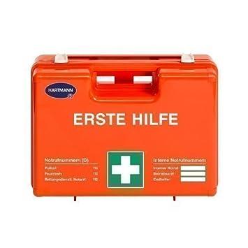 HARTMANN Erste Hilfe Koffer groß mit Inhalt DIN 13169-E: Amazon.de ...