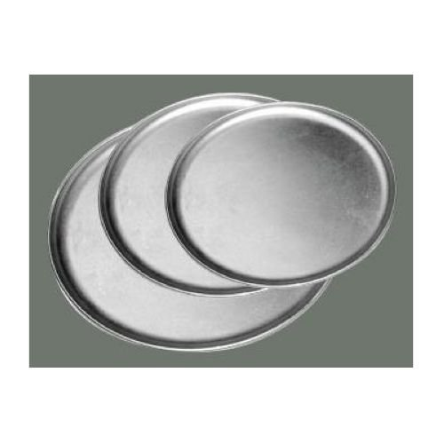 Winco Aluminum Coupe Style Pizza Tray, 8 inch - 1 each.