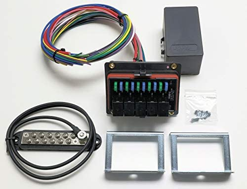 Concours Specialties Universal Waterproof Relay/Fuse Distribution Box on