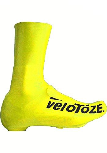 veloToze Tall Road Schuhüberzug Viz-gelb
