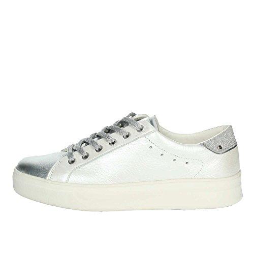 Crime 25603KS1 Sneakers Women Bianco/Silver 38