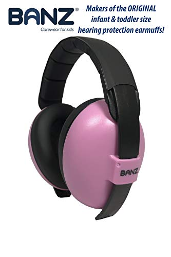 Baby Banz Earmuffs Infant Hearing Protection - Ages 0-2+ Years - The Best Earmuffs for Babies & Toddlers - Industry Leading Noise Reduction Rating - Soft & Comfortable - Baby Ear Protection
