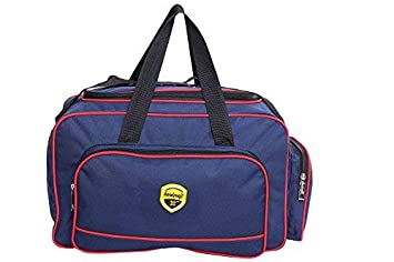 Hard Craft Nylon Lightweight Waterproof Blue Travel Duffel Bag
