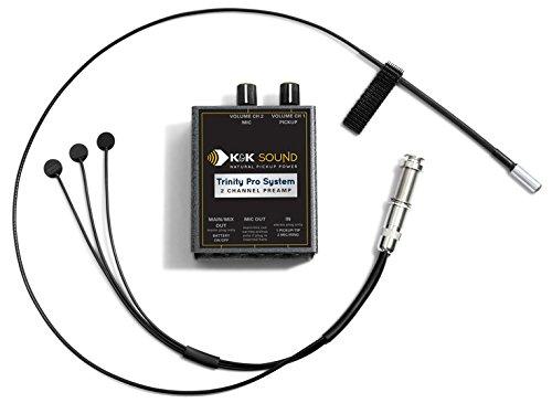 6' Pro Mid Range (K&K Sound Trinity Mini PRO Guitar Pickup System w/Mic and Phase Switch)