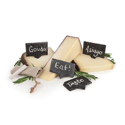 Rustic Farmhouse: Slate Cheese Markers