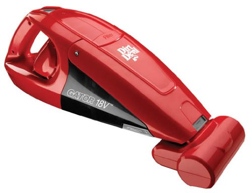 Dirt Devil Gator Bagless Cordless Hand Vac Red BD10175