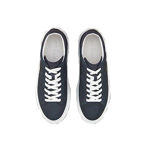 Hogan Mænds Hxm3650j960i7p3735 Blå Ruskind Sneakers WhEMQl