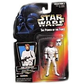 Star Wars the Power of the Force Luke Skywalker in Stormtrooper Disguise
