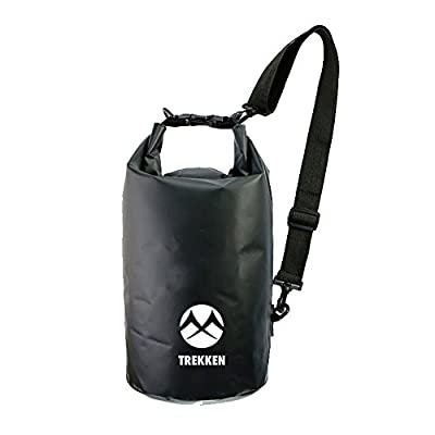 Home Of Merch Trekken Waterproof Dry Bag - Roll Top Dry Compression Sack Keeps Gear Dry for Kayaking, Beach, Rafting, Boating, Hiking, Camping, Surfing & Fishing with Waterproof Dry Bag Phone Case