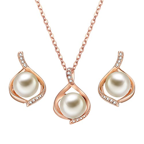 Luxury Pearl Pendant Jewelry S...