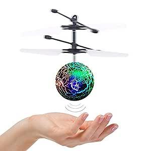 DMbaby Juguetes para niños de 6-14 años, Flying Ball Helicopter ...
