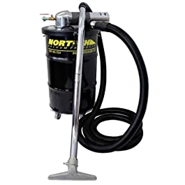 Nortech N551BCXATEX ATEX Certified S Vacuum Unit with 1.5-Inch Inlet and Attachment Kit, 30-Gallon