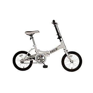 Mantis Flex Folding Bike, 16 inch Wheels, 11 inch Frame, Unisex, White
