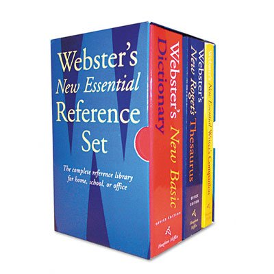HOUGHTON MIFFLIN 1020842 Webster-Feets New Essential Refe...