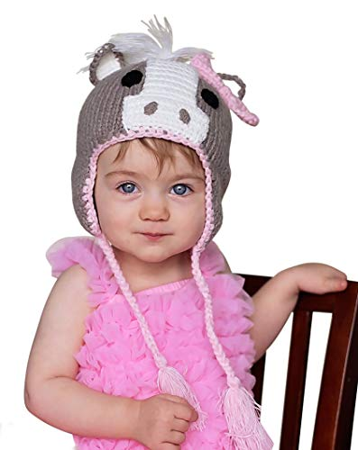 (Huggalugs Girls Pony Horse Beanie Hat or)