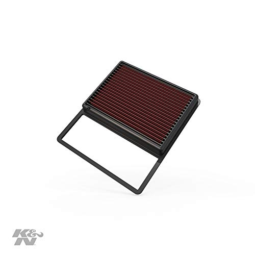 K&N Engine Air Filter: High Performance, Premium, Washable, Replacement Filter: 2013-2019 Ford/Lincoln (Fusion, Modeo V, C-Max, MKZ Hybrid), 33-5001