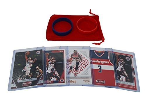 2015 Topps Nba Basketball - Bradley Beal Basketball Cards Assorted (5) Card Bundle - Washington Wizards Trading Cards # 3