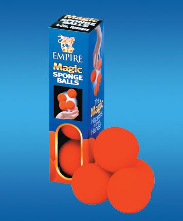 Empire Magic 2″ Red Sponge Balls