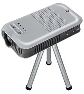Bresser 3710100 - Proyector de LED (lector de tarjetas MicroSD, entrada de audio y vídeo, puerto USB mini) [Importado de Alemania]