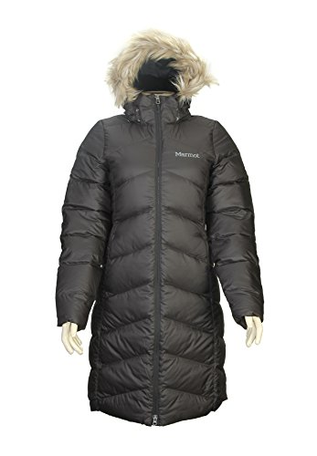 Marmot Womens  Montreaux Down Coat - Medium - Black by Marmot