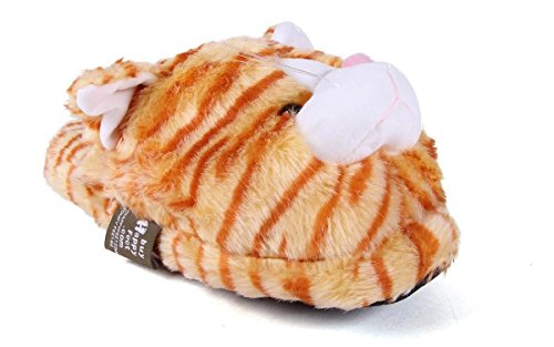 Happy Feet Premium Scuff Heren En Dames Animal Slippers Cat