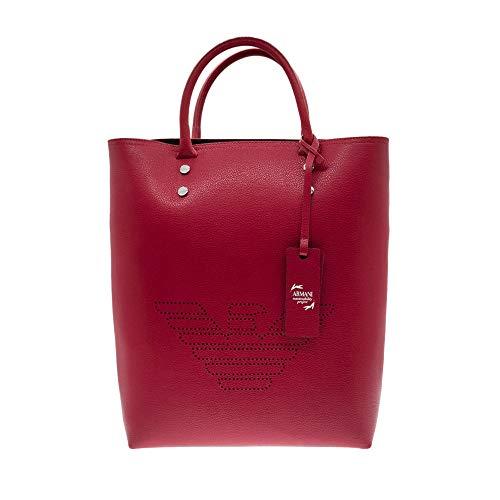 Emporio Armani  borsa Shopping verticale Rossa 3 in 1