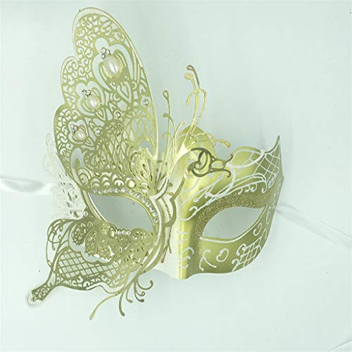 JGBHPNYX 3D Butterfly Princess Mask Masquerade Party Princess