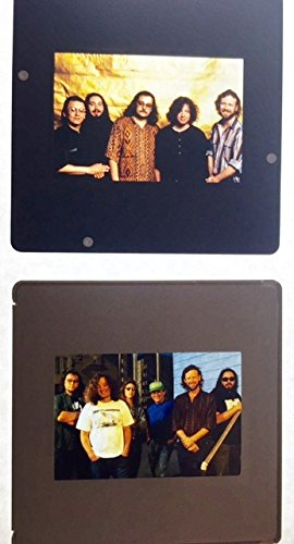oddtoes concert posters and music memorabilia Widespread Panic Early Color Slide Negatives Two (2) Available