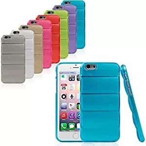 Body Armour TPU Soft Back Cover Case for iPhone 6 (Assorted Colors) , Purple