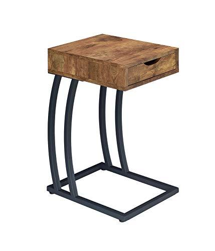 Storage Drawer Table Antique Nutmeg