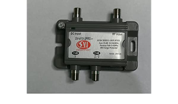 Amazon.com : SVI 2 Port Cable TV/HDTV/Digital Amplifier ...