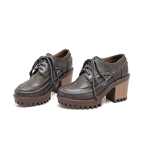 Urethane BalaMasa APL10602 Womens Pumps Travel Shoes Solid Gray Mule wRCIqRgZ