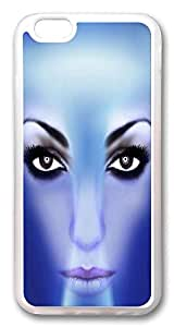 ACESR 3d Face Lastest iPhone 6 Cases, TPU Case for Apple iPhone 6 (4.7inch) Transparent