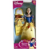 Disney Snow White Princess Doll with Charming Bracelet Collectible 2003 New