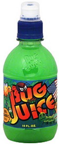Bug Juice Lemony Lime, 10-Ounce (Pack of 24) (Bug Juice)