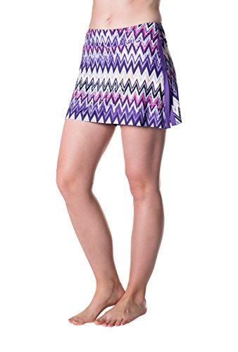Skirt Sports Women's Gym Girl Ultra Skirt, Sidewinder Print,...