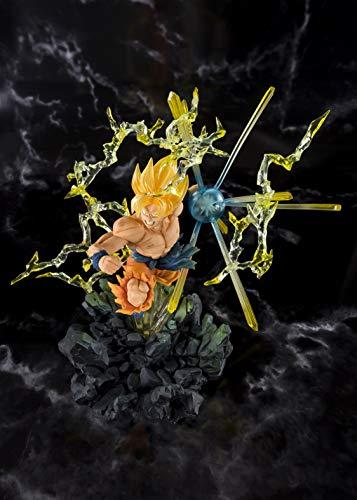 Tamashii Nations BAS55388 Figuarts Zero Super Saiyan Son Goku -The Burning Battles-, Multicolor