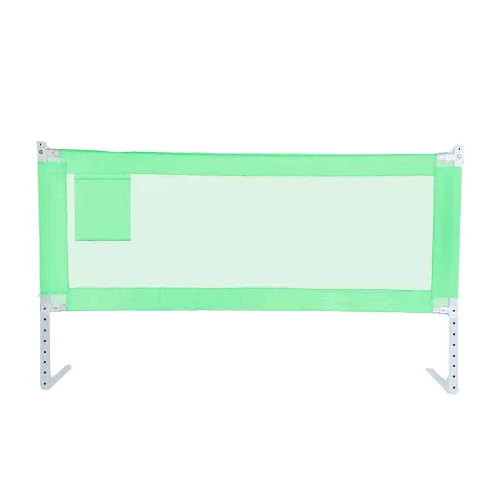 JY 縦の上昇のベッドの柵の赤ん坊の落下抵抗の保護塀、調節可能なベッドサイドの柵150-200cmの幼児子供のバッフルグリーン68-85cm (サイズ さいず : 200cm) 200cm  B07MFLSF7V