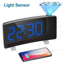 iRedBeau Projection Alarm Clock, 7