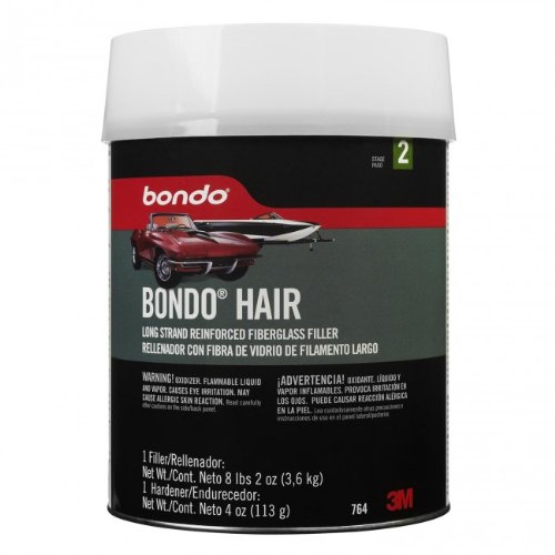 Price comparison product image Bondo 764 Bondo-Hair Long Strand Fiberglass Reinforced Filler Can - 1 Gallon